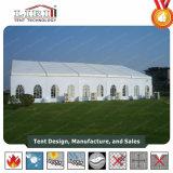 Bens móveis tenda de casamento com capota de lona de PVC branco impermeável