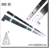 Papier et emballage de l'industrie lame de couteau de coupe de cisaillement de la guillotine pour Heidelberg Ligne d'impression