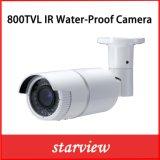 800tvl Camera van de Veiligheid van de Kogel van kabeltelevisie van IRL de Waterdichte (W24)