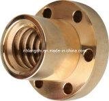 Le début multi de bronze trapézoïdal d'amorçage a bridé la noix Tr30X6 de vis
