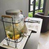 Dispensador de cristal caliente del jugo de la venta 5L con el golpecito