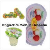 製造業者の自動ゼリーのコップの詰物およびシーリング機械