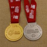 Médaille personnalisée par métal fait sur commande de sport de bronze d'argent d'or