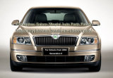 De voor Steun van de Bumper voor Skoda Octavia vanaf 2004 (1ZD 807 184)
