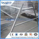 Cage en acier de couche de batterie de matériel de ferme de poulet de volaille