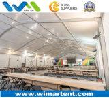 防水Tranparentの壁によってアーチ形にされる屋根の大きい屋外のイベント党テント