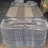 Plaques équivalentes de matériau d'acier inoxydable d'échangeur de chaleur de plaque de garniture de série de Laval M d'alpha
