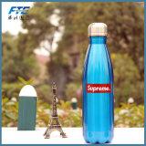 Bouteille faite sur commande de bosse de bouteille d'eau de sport d'acier inoxydable