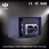 디지털 패스워드 자물쇠와 LCD 디스플레이를 가진 지문 안전한 상자