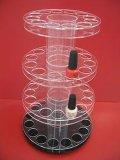 Étalage acrylique de bruit pour le vernis à ongles, annonçant le produit acrylique