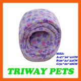 Souple et confortable de lits en velours de corail Cat (WY1610111-2A/C)