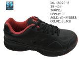 Numéro 48070 le sport des chaussures des hommes stocke des houes noir et gris