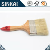 Bristle en plastique Brush avec Hardwood Handle
