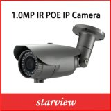 1.0MP IR wasserdichte Gewehrkugel CCTV-Sicherheits-Netz IP-Kamera