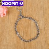 HOOPET cadena de metal Pet Trainer Collar y formación correa