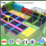 상업적인 Multifunction Ninja Warrior Course Indoor 및 Outdoor Trampoline Park