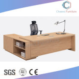 Wooden L Shape Counts Office Furniture Executive Desk (CAS-MD18A28)