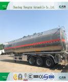 Eje 3 45cbm de transporte de aceite diesel semi remolque para venta