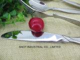 高い等級の星のレストランのステンレス鋼の平皿類の食事用器具類