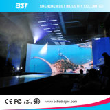 6500마리의 Nits 높은 광도 P3.91는 광고 매체를 위한 임대 LED 영상 표시 스크린을 방수 처리한다