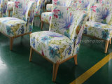 Hotel de hospitalidade poltrona de tecido/ cadeira confortável/ Cadeira de Lazer/ Cadeira de café