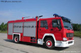 Approvisionnement professionnel Isuzu Fire Truck Fire Engine Fire Fight Truck of Water Type de mousse