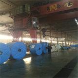 Widly verwendete Steinzerquetschenpflanzenstahlnetzkabel-Förderband mit Deckel Standard-GB/T9770-L