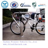 三角形のステンレス鋼の自転車の駐車立場