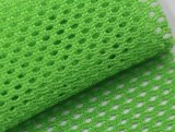 Venta caliente Tejido de poliéster transpirable en tejido de malla de tela para zapatos