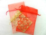 Custom красочные Organza кулиской подарочный футляр