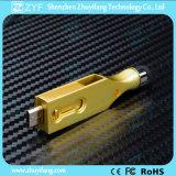 2016 새로운 디자인 첨필 금속 회전대 OTG USB 드라이브 (ZYF1617)