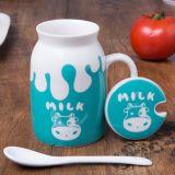 16oz Leite Cerâmica promocionais caneca personalizada de porcelana xícara de leite