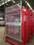 工場中国2tの建築現場のエレベーターの上昇の倍のケージ