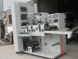 Máquina de impresión flexográfica con cinco Uvs