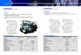 Motor diesel para el uso del generador del pabellón