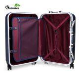 Bagagli del carrello con l'insieme dei bagagli di corsa del sacchetto dei bagagli della prova della graffiatura del PC delle 4 rotelle