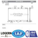 Placa de alumínio para radiador Hyundai Accent Mt Dpi: 2904
