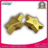 Divisa promocional del Pin de metal con el chapado en oro