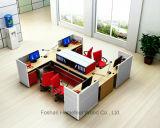Poste de travail facile moderne de bureau d'installation avec le meuble d'archivage (SZ-WS307)