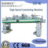 Control de PLC de la máquina laminadora seca de alta velocidad con la cola