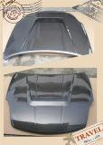 Capa de estilo carbono com fibra de carbono para Nissan Fairlady Z33 350z 2005+