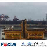 Hohe Leistungsfähigkeit 180m3/H, die konkrete stapelweise verarbeitende/Mischanlage für den Export schwimmt