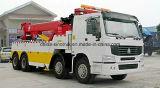 Camion de remorquage professionnel de dépanneuse de rue d'Isuzu d'approvisionnement de 15tons