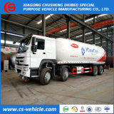 Caminhão de petroleiro maioria de Dongfeng Sinotruk 8X4 35.5m3 15mt LPG
