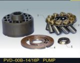 置換NACHIのピストン・ポンプのエンジン部分PVD-00b-14/16pのプランジャポンプ予備品