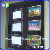 LED Panel per Real Estate Window Ceiling Crystal LED Light Box
