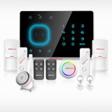 Sistema de alarma Wirelss Seguridad para el Hogar GSM antirrobo con APP Control