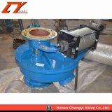 La Ceniza de cerámica de neumático Válvula de compuerta de descarga