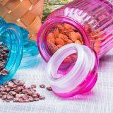 Frasco de vidro da vela do frasco da decoração de vidro da HOME do fabricante do frasco dos doces