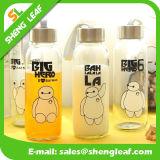 Niedriger Preis transparente Fashionary Zeichen-Wasser-Flasche (SLF-WB035)